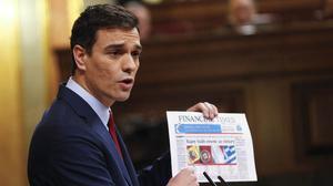 El CIS da a Sánchez la victoria por la mínima en el debate con Rajoy