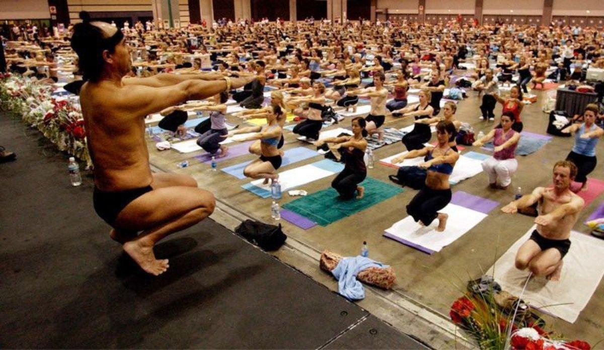 Una imagen de 'Bikram: yogui, gurú, depredador'.