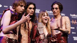 Italia gana el festival de Eurovisión 2021 con la banda Måneskin