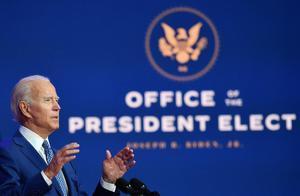 El presidente electo de Estados Unidos, Joe Biden, durante su discurso el pasado 9 de noviembre en Wilmington, Delaware.
