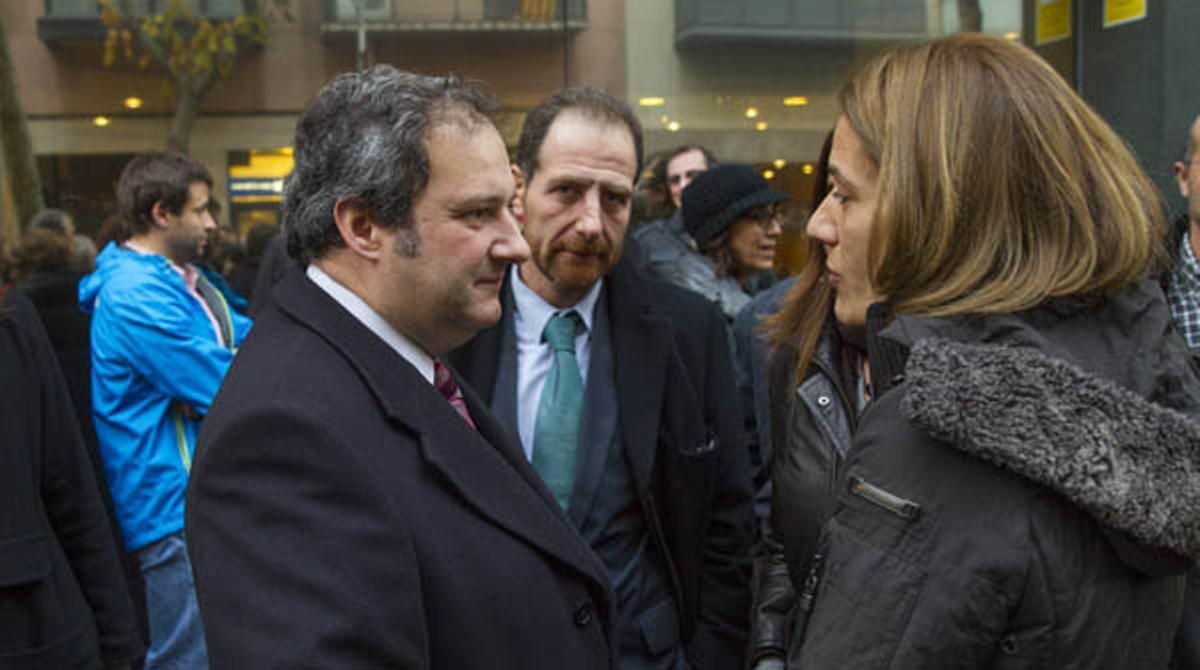 Concentración para pedir la liberación de Marc Marginedas