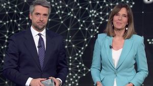 Carlos Franganillo y Ana Blanco.