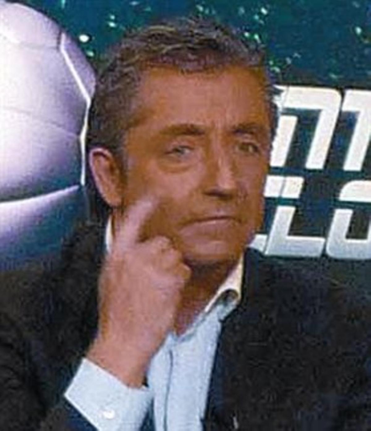 El periodista Josep Pedrerol.