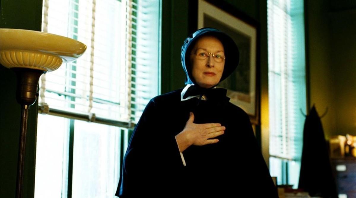 Meryl Streep, en 'La duda'.