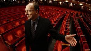 El director de la Ópera de Nueva York, Peter Gelb.