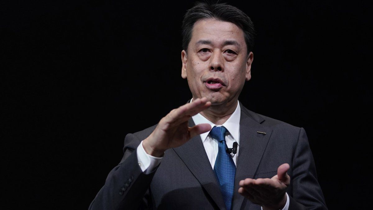 Makoto Uchida, CEO de Nissan.