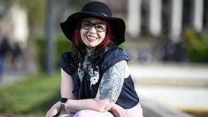 Kelly Sue DeConnick, autora de la serie 'Bitch Planet', en el Salónd el Cómic.