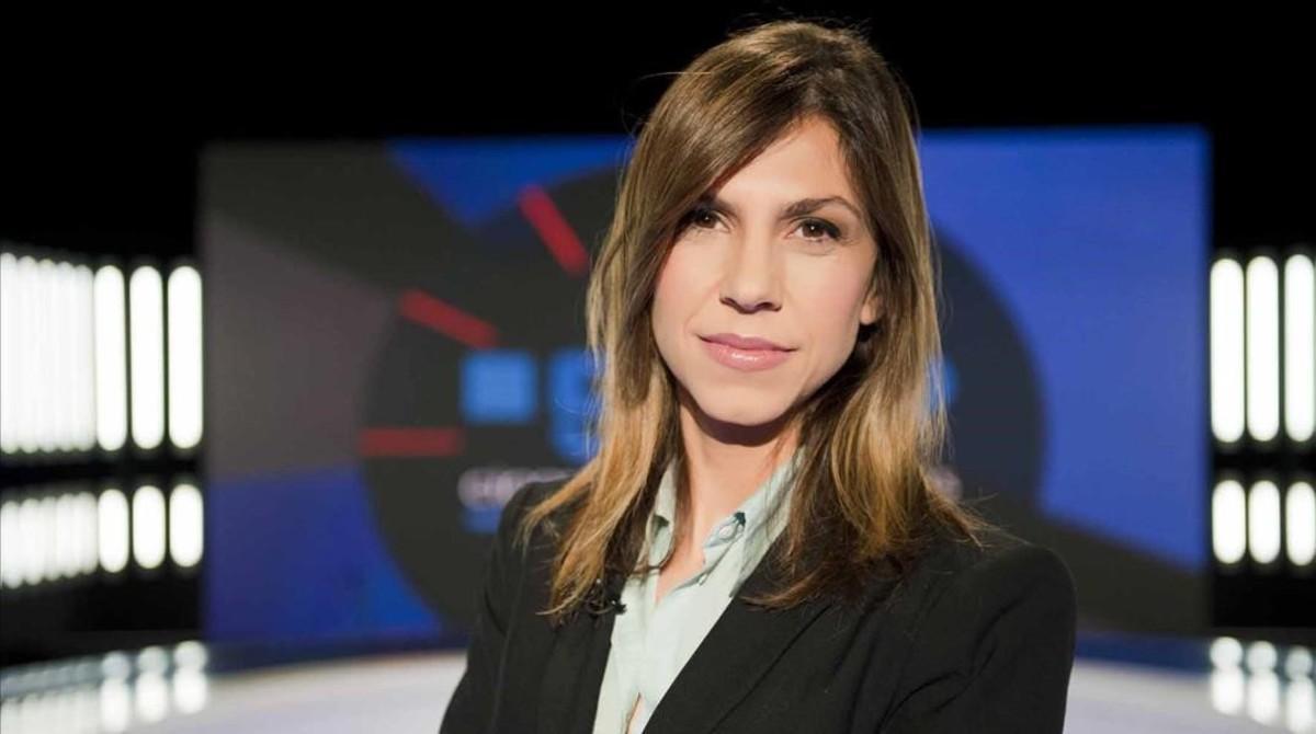 La periodista Cristina Puig.