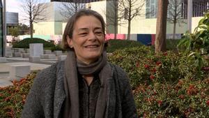 La escritora Esther García Llovet.