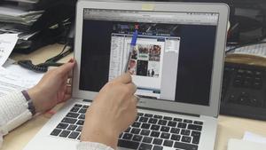 Un usuario consulta una web de descargas.