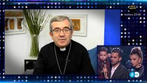 El bisbe de Valladolid a 'Got talent'