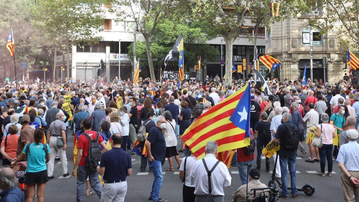 Concentración ante el Consulado de Italia el pasado día 24.