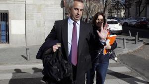 Javier de la Rosa Misol, en la Audiencia Nacional donde se le investiga por blanqueo de capitales en el 'caso Pujol'