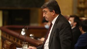 El PNV despacha la moción en dos minutos para no dar protagonismo a una patochada. En la foto, Aitor Esteban.