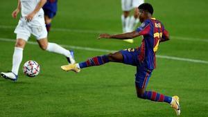 Ansu Fati logra el segundo gol del Barça al Ferencváros en la primera jornada de la Champions League.