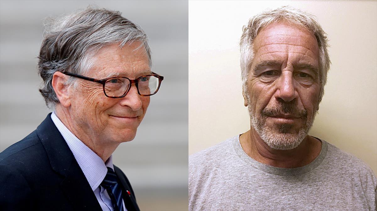 Bill Gates y Jeffrey Epstein.