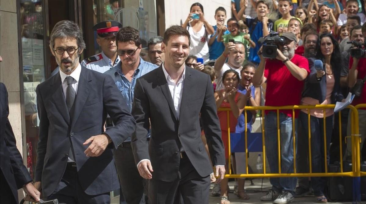 """Messi: """"Nunca miro los contratos, no sé lo que firmo"""""""