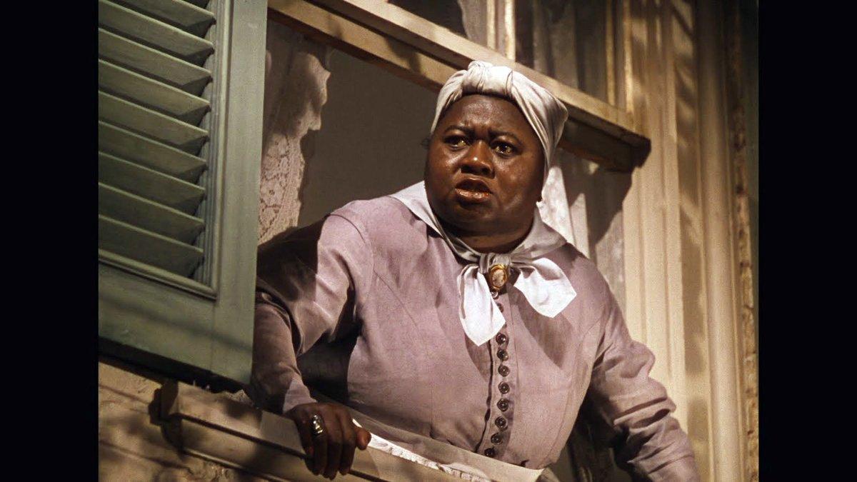 La actriz Haitie McDonald, en una escena de 'Lo que el viento se llevó'.