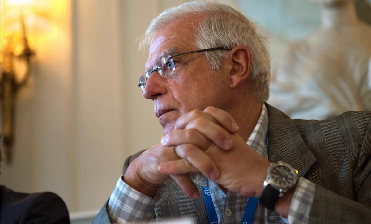 El ministro de Exteriores, Josep Borrell.