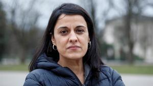 Anna Gabriel, fotografiada en Ginebra.