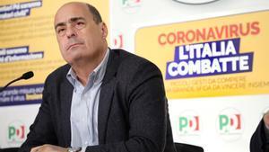 El dimitido líder del Partido Demócrata italiano Nicola Zingaretti.
