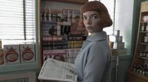 Anya Taylor-Joy, en el papel de Beth Harmon, el personaje que la ha convertido en una estrella mundial.