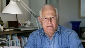 El escritor norteamericano James Salter, en el 2005.