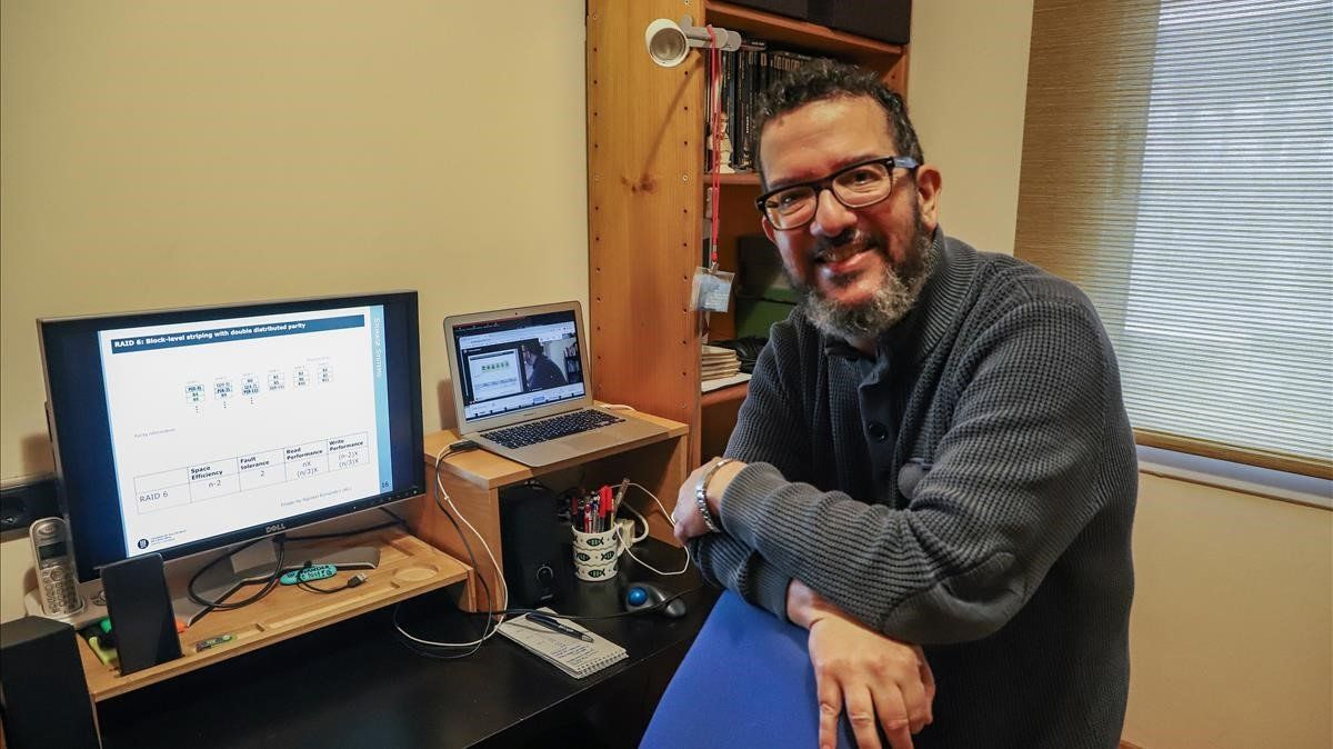 David López, profesor de Informática en la Univesitat Politècnica de Catalunya (UPC).