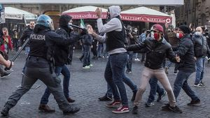 La extrema derecha y la mafia buscan aprovecharse de las protestas en Italia