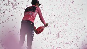 Egan Bernal surt més líder del Giro d'Itàlia al Zoncolan
