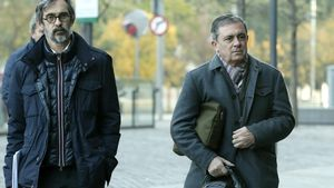 Jordi Pujol Ferrusola y su abogado, Cristobal Martell, en una foto de archivo.