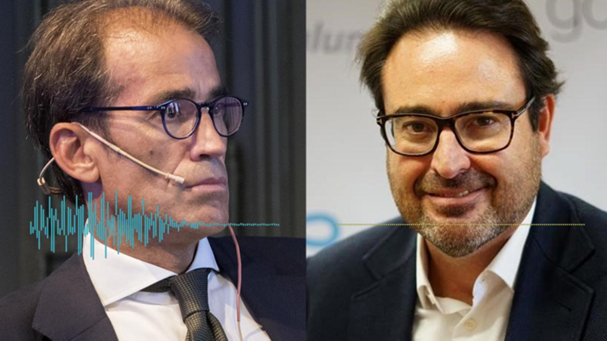 Conversación entre David Madí y el presidente de Fira de Barcelona, Pau Relat
