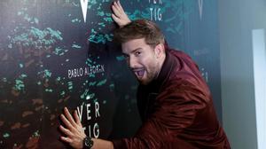 El malagueño Pablo Alborán bromea con el título de su nuevo disco, 'Vértigo'.