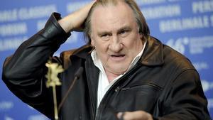 Gerard Depardieu, durante la presentación dela película 'Saint-Amour'en la Berlinale.