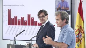 Simón demana als madrilenys seguir les recomanacions sanitàries