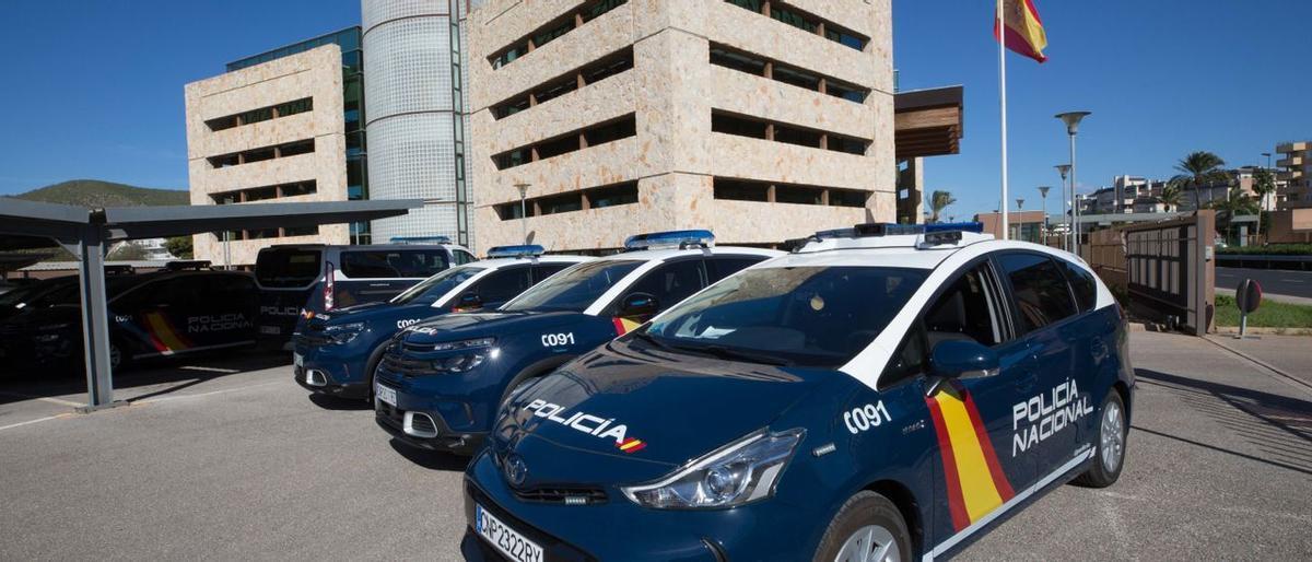 Comisaría de la Policía Nacional en Ibiza.