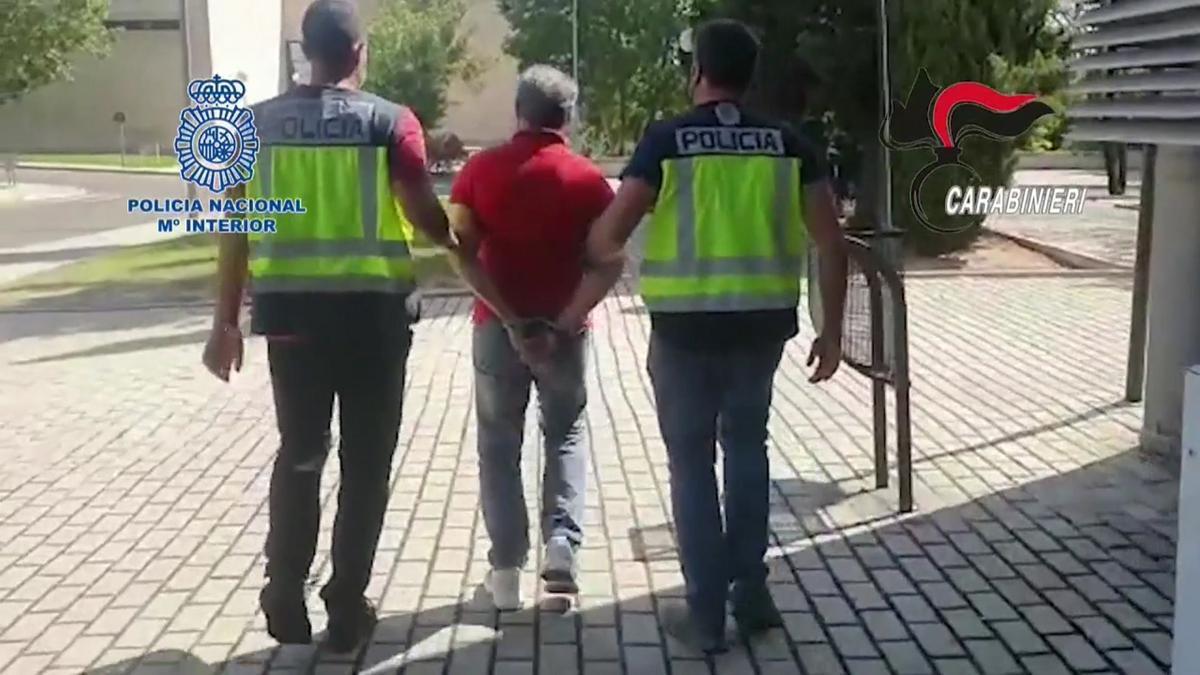 Detenido en Madrid al máximo responsable de la Ndrangueta calabresa.