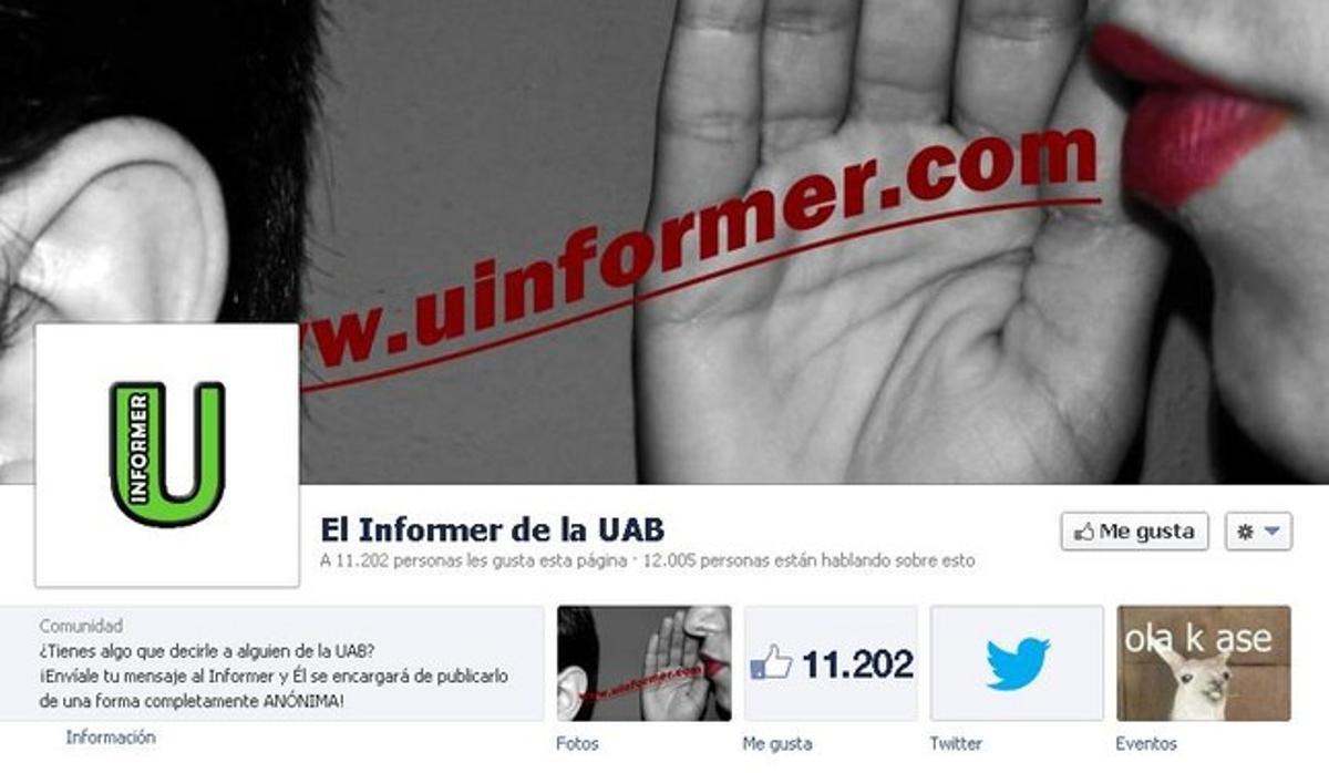 La portada del 'Informer' de la UAB