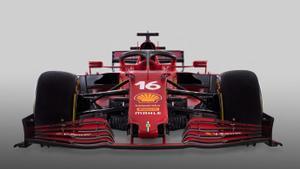 Este es el nuevo Ferrari que pilotará Carlos Sainz y Charles Leclerc.