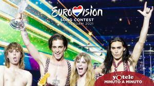 Måneskin, representantes de Italia y ganadores de Eurovisión 2021