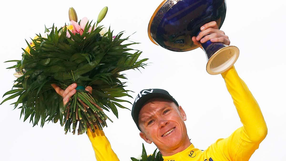 La UCI absuelve a Froome, que mantiene sus victorias.