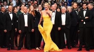 Charlize Theron posa en el Festival de Cine de Cannes, en mayo del 2015.