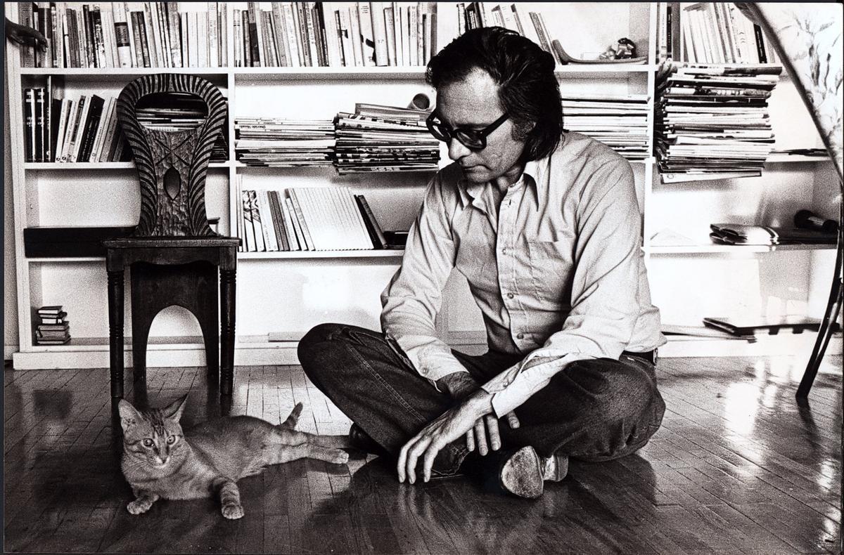 Imagen de archivo del escritor Paco Umbral.