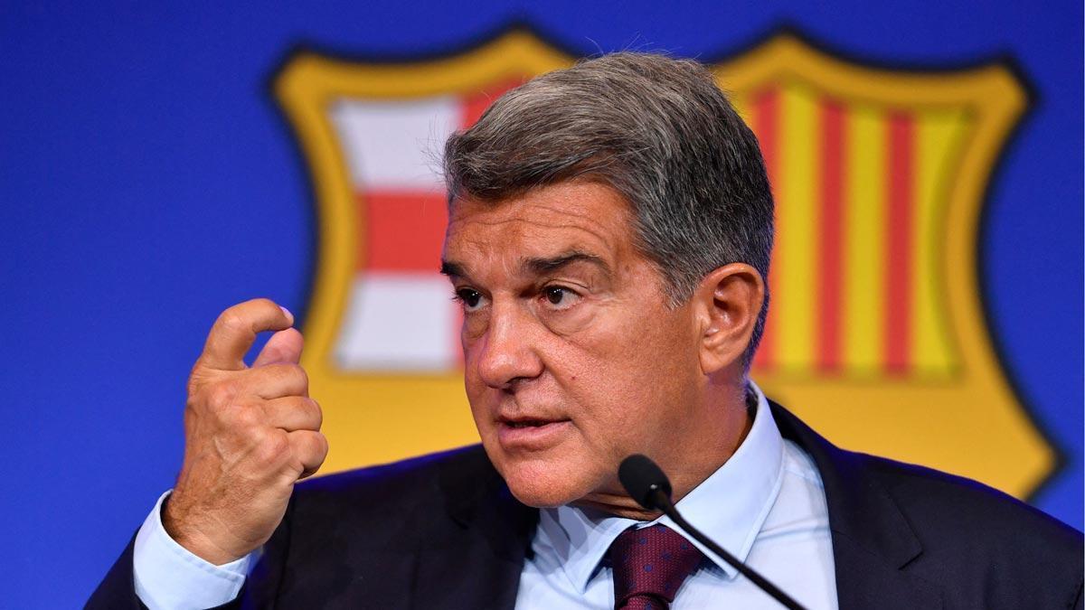 Laporta admite que la renovación de Messi hubiera puesto en riesgo al club.