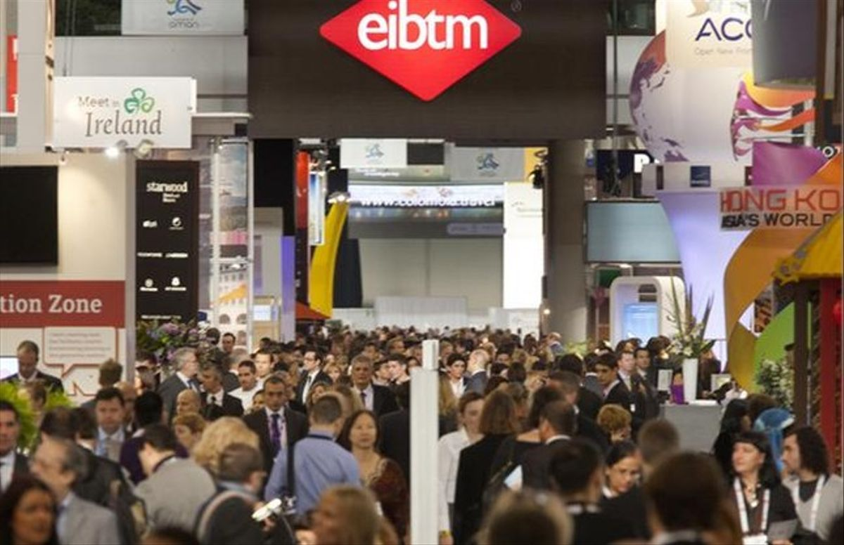 Participantes en la edición del año pasado de la feria EIBTM.