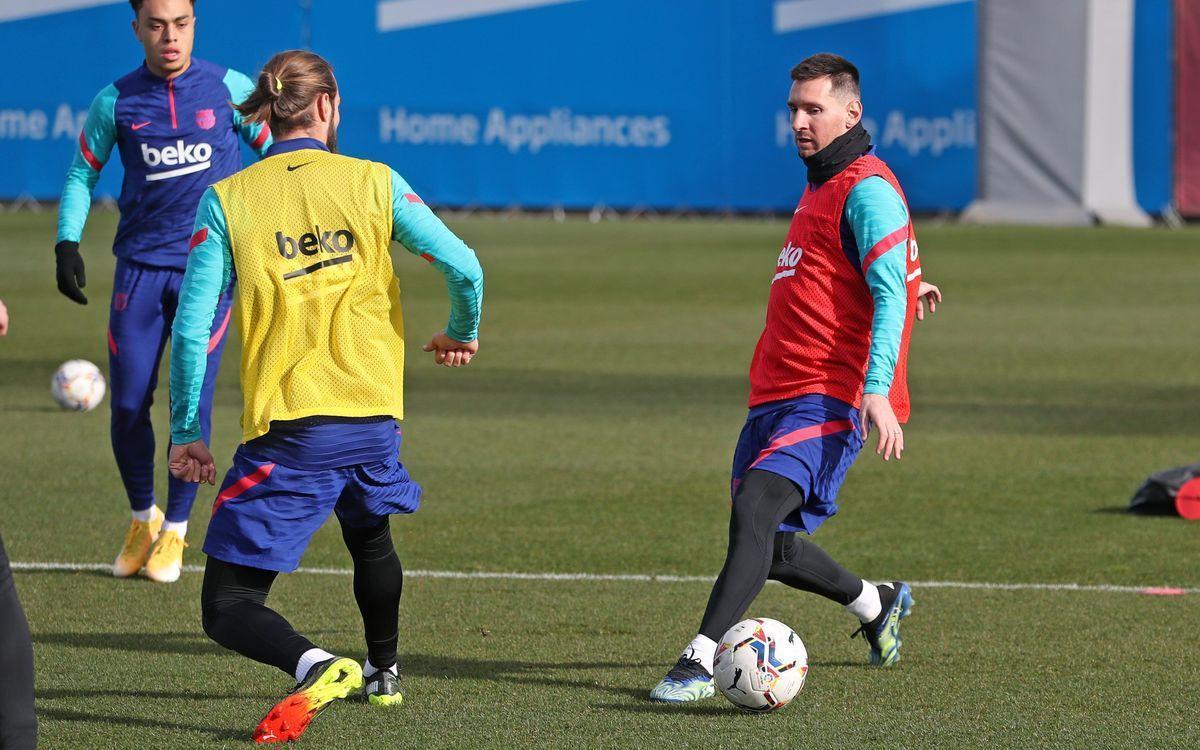 Messi torna per a la Copa