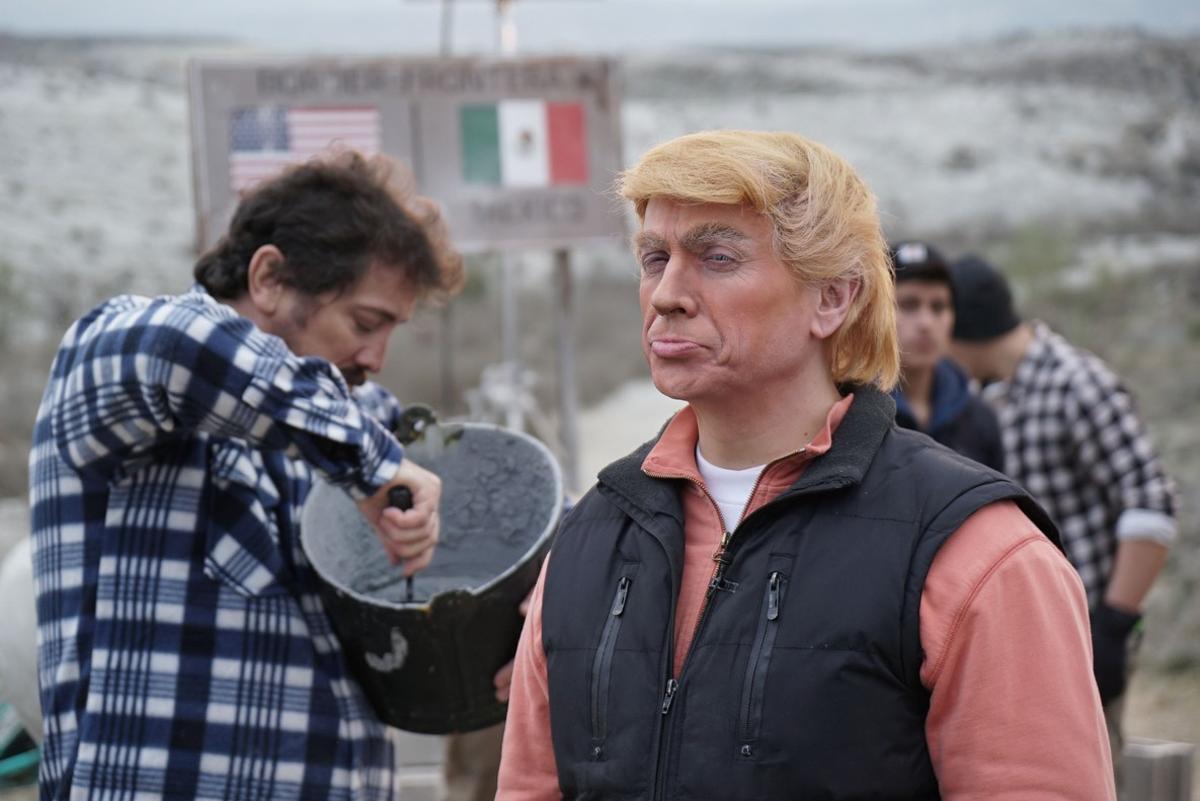 José Mota, como Donald Trump, en el especial de Fin de Año de TVE-1.
