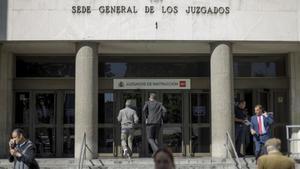 Los Juzgados de Instrucción de Plaza de Castilla de Madrid.