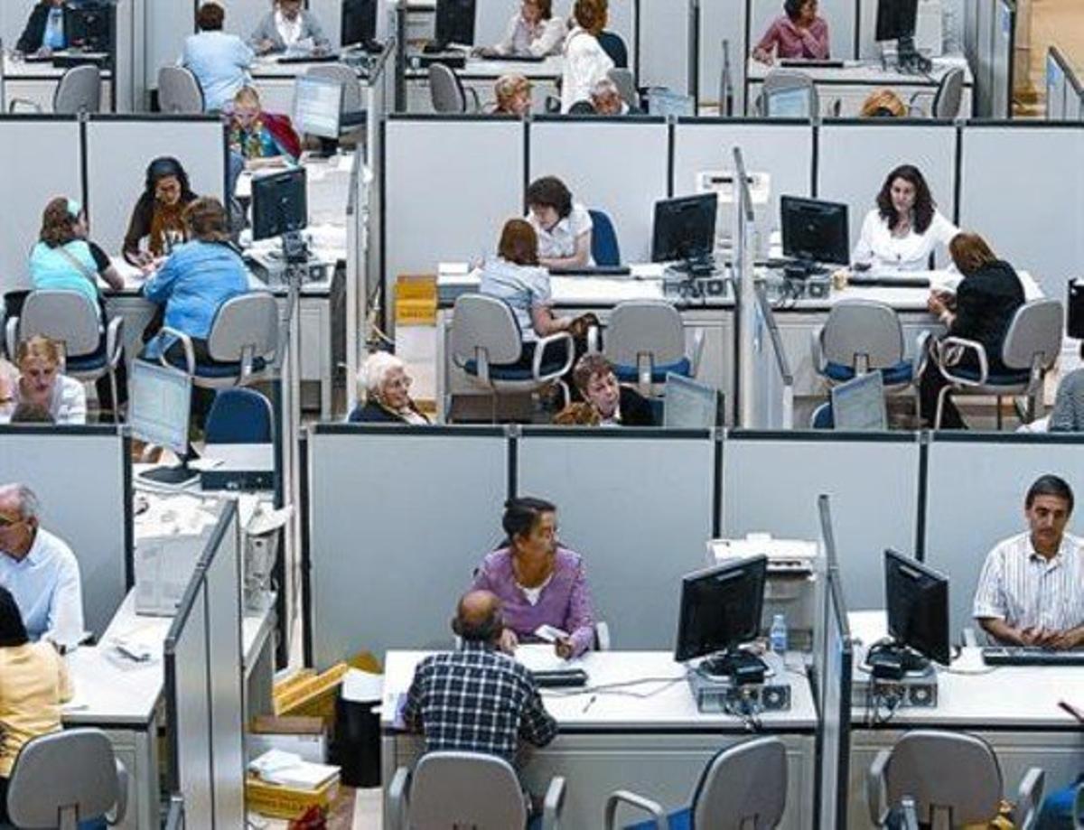 Oficinas de la Agencia Tributaria de Madrid.