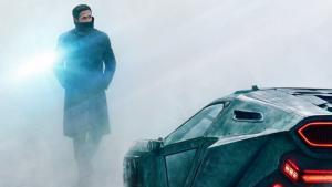 Detalle de uno de los nuevos carteles promocionales de 'Blade runner 2049'.